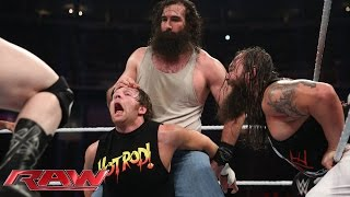 Roman Reigns, Dean Ambrose & Randy Orton vs. Bray Wyatt, Luke Harper & Sheamus: Raw, Aug. 3, 2015