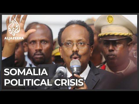 Somali opposition leaders 'no longer recognise president'