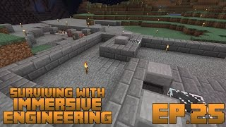 Surviving With Immersive Engineering :: Ep.25 - Zombie Shooting Gallery