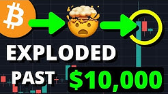 HUGE BREAKOUT!!! BITCOIN BREAKS $10,000 BUT IT'S THE NEXT PRICE THAT WILL CONFIRM THE BULL RUN!!!