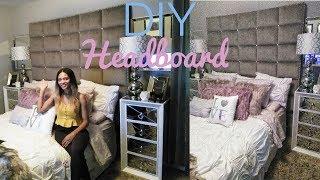 DIY PANEL HEADBOARD