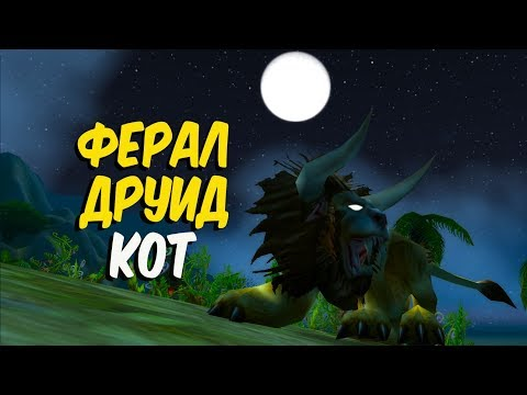 ФЕРАЛ ДРУИД КОТ в World of Warcraft Classic (Feral druid Cat)
