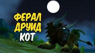 ФЕРАЛ ДРУИД КОТ в World of Warcraft Classic (Feral druid Cat)