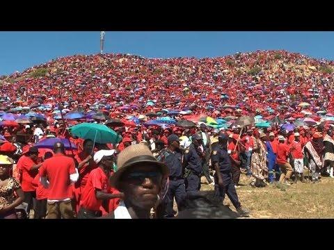 Lesotho's Democratic Congress rally ahead of snap poll