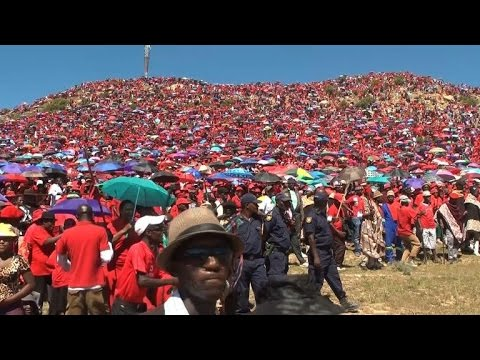Lesotho's Democratic Congress rally ahead of snap poll