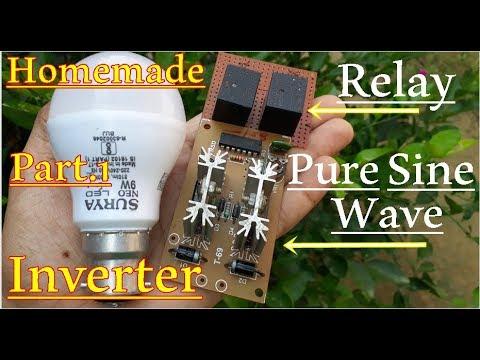 Full Explained   Sine Wave Inverter   Easy Home made Inverter You Can Make  Also part 1