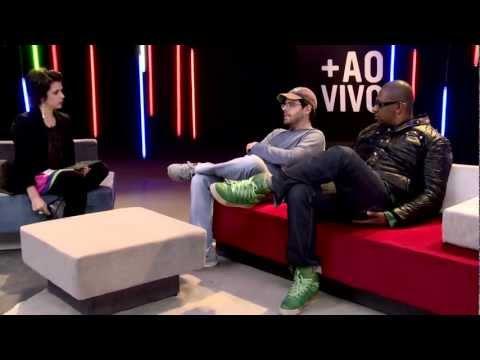 DJ Marky, Gui Boratto e DJ Patife no +AoVivo Especial Sónar - 2 de maio de 2012
