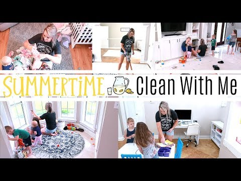 SUMMERTIME 2019 CLEAN WITH ME | EXTREME CLEANING MOTIVATION | Amanda Sandefur