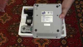 super Nintendo от Dendy - Распаковываем консоль детства