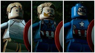 ALL MCU Captain America in LEGO Marvel