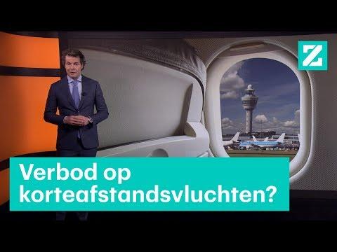 moeten korteafstandsvluchten verboden worden rtl z nieuws