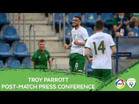 POST-MATCH PRESS CONFERENCE   Troy Parrott