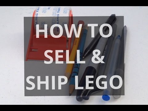 How To: Sell and Ship LEGO - YouTube