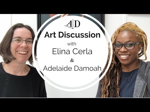 Elina Cerla Discusses Her Art Career: Art Discussion