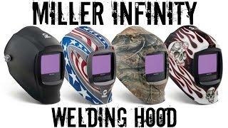 miller digital infinity black welding helmet unboxing