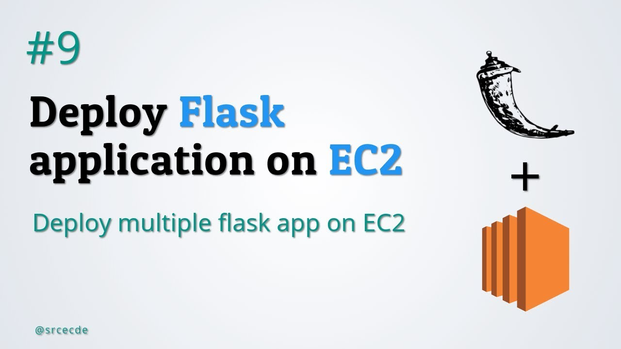 Multiple flask app on EC2 - Flask application with EC2 part