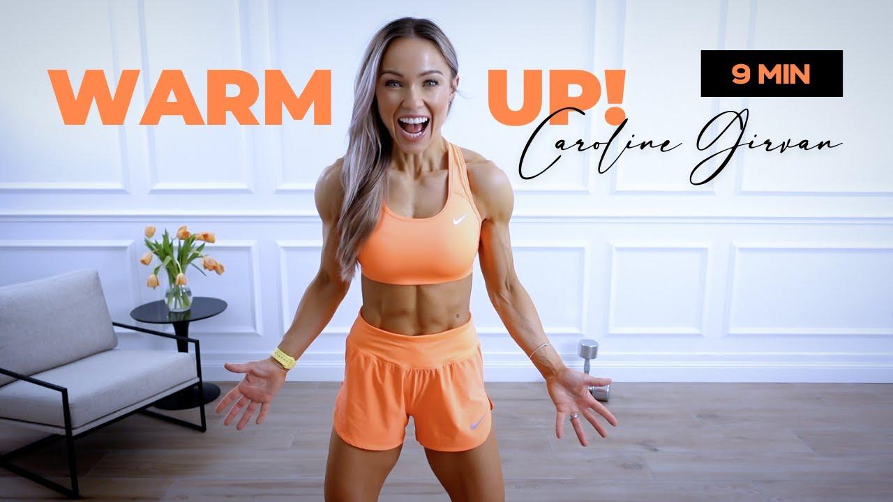 9 Min Full Body Warm Up Routine   Caroline Girvan EPIC Heat