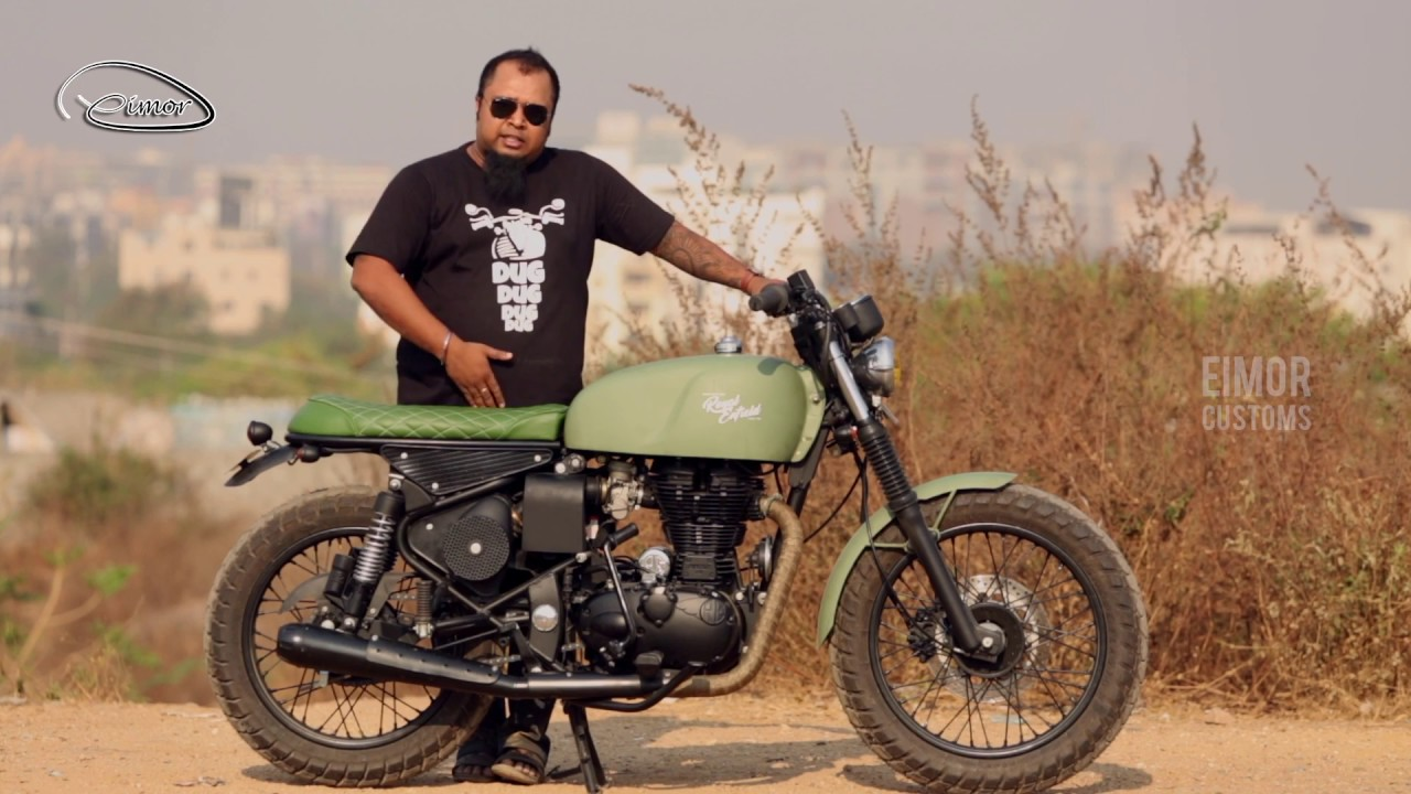 Hyderabad Based Customizer Gives Royal Enfield Classic 350