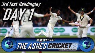 Cricket 19 The Ashes 3rd Test at Headingley Day 1 - Retro 90s BBC Style Presentation