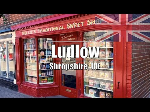 Loveliest Town In England? - Ludlow, Shropshire