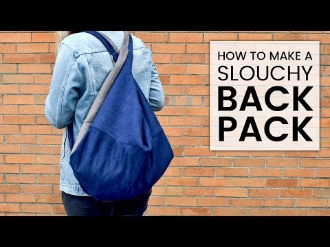 How To Make A Slouchy Bag