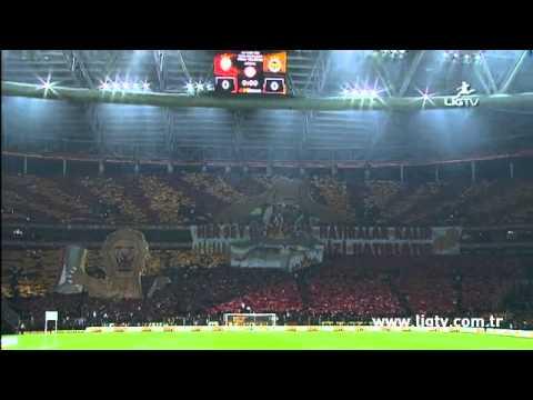 Galatasaray - Fenerbahçe 16.12.2012 Koreografi