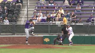 Highlights: Baseball vs Central Arkansas 4/13/19