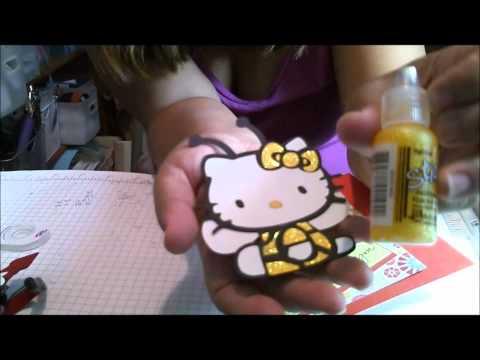 Hello Kitty Bee Cricut Card