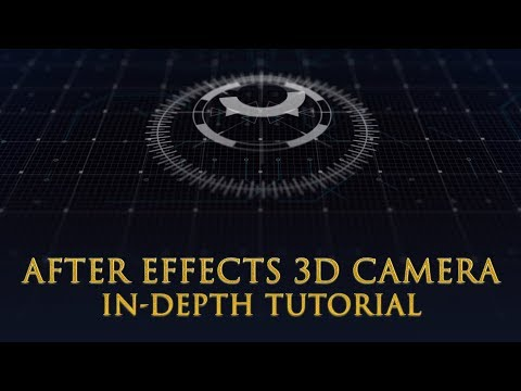 Zero To Hero With After Effects 3D Camera Tool Bangla Tutorial
