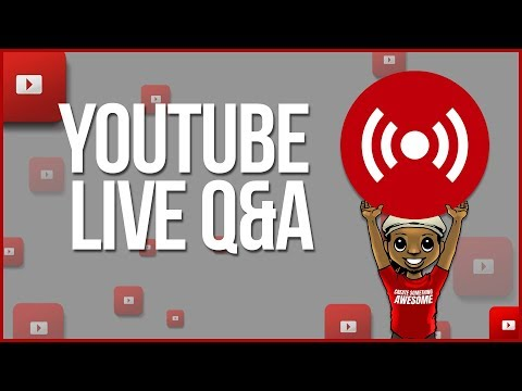 🔴 WHAT THE HECK IS GOING ON WITH YOUTUBE RIGHT NOW?! [YOUTUBE LIVE Q&A]