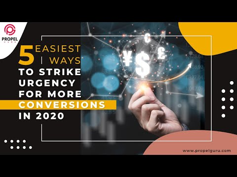 5 Easiest Ways to strike Urgency for More Conversions in 2020