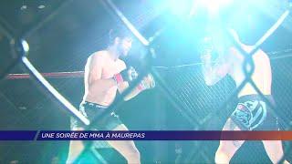 Yvelines | Une soirée de MMA à Maurepas