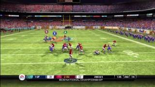 NCAA Football 10 Demo 1st Half