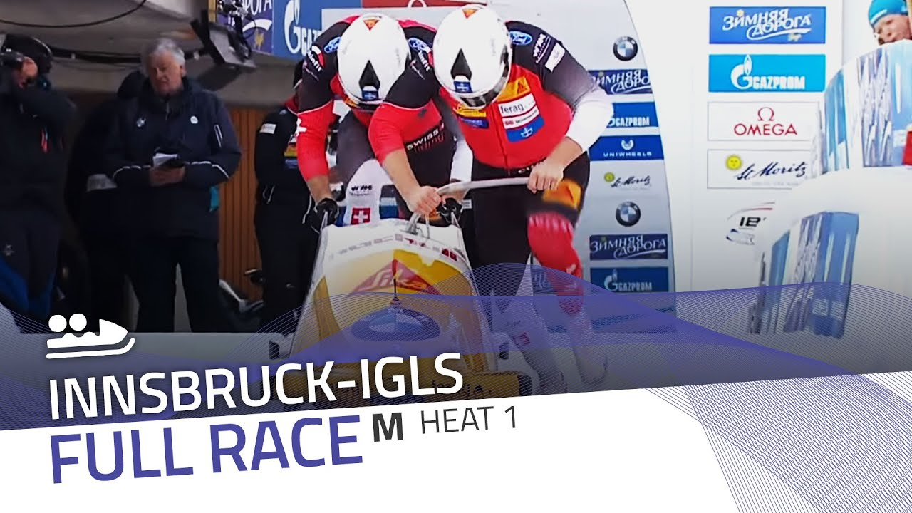 Innsbruck-igls | bmw ibsf world championships 2016 - 2-man bobsleigh heat 1 | ibsf official