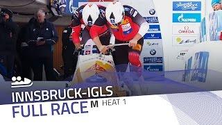 Innsbruck-Igls | BMW IBSF World Championships 2016 - 2-Man Bobsleigh Heat 1 | IBSF Official