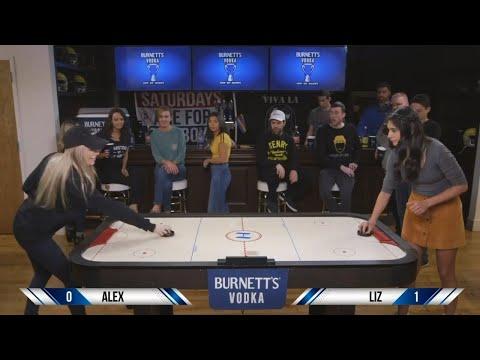 Barstool Air Hockey Tailgate by Burnett's Vodka
