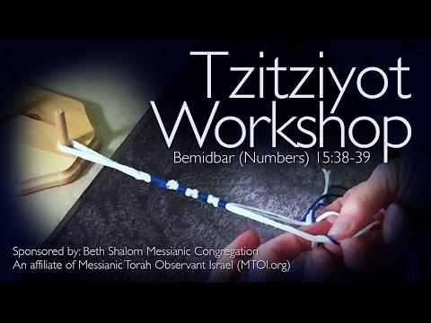 MTOI Tzitziyot Workshop