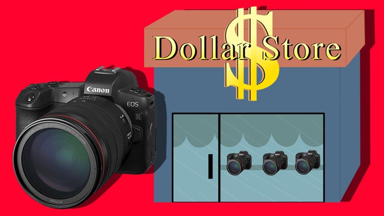 Canon Eos R A Dollar Camera With Mercedes Lenses