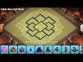 Clash of clans Town hall 7 war base with the latest updates 2017