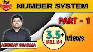 Video Number System Part 1 🚨 Most Advanced Classification Of Number - Abhinay Sharma (Abhinay Maths) 🚨 download MP3, 3GP, MP4, WEBM, AVI, FLV Juli 2018