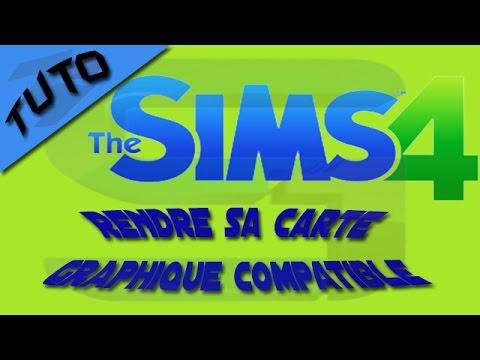 [TUTO] Rendre compatible sa carte graphique Sims4