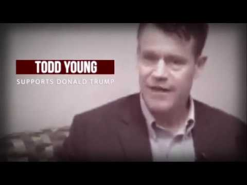 Todd Young Stands with Donald Trump. Hoosiers Deserve Better.