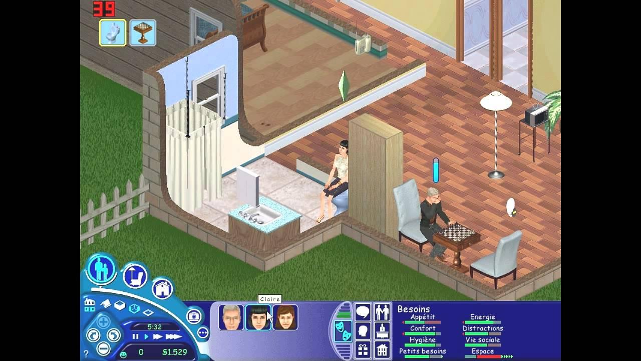 Les sims 1 l 39 int grale 20 studiocity maison maison for Modele maison sims 2