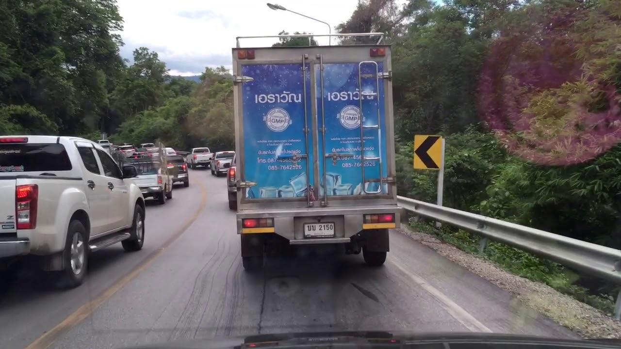 #เขาช่องตะโกโนนดินแดง รถเริ่มติดกันแล้วครับ6 กรกฎาคม 2563