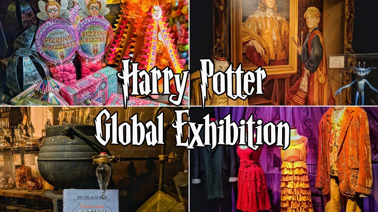 Harry Potter The Exhibition Berlin Germany Youtube