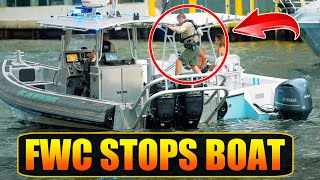 Pulled Over By FWC Officers on the Miami River (Full Story)