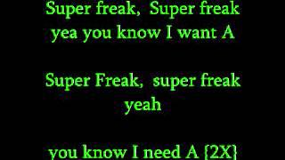 Supa Freak-Young Jeezy Lyrics On Screen