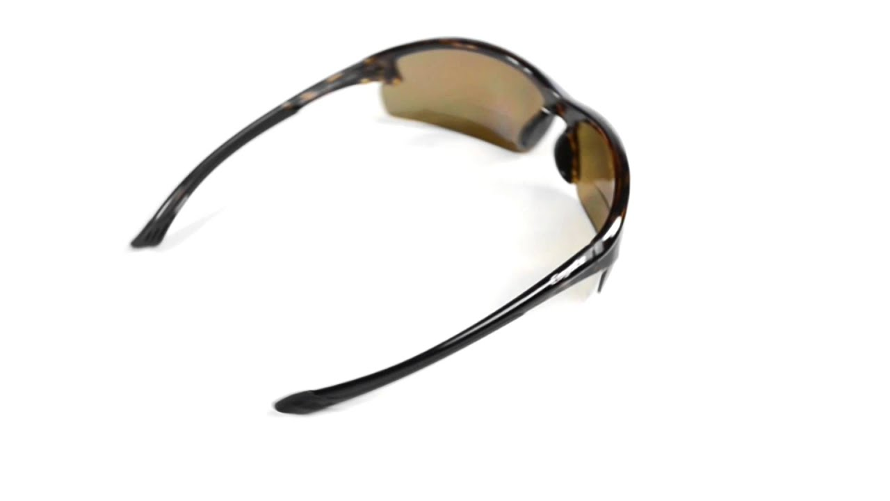 489e9132982c Coyote Eyewear BP-7 Sunglasses - Polarized, Bi-Focal - YouTube