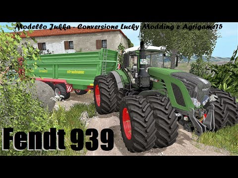 Pubblicazione Fendt 939 - By Jukka, Lucky Modding, Agrigamer15