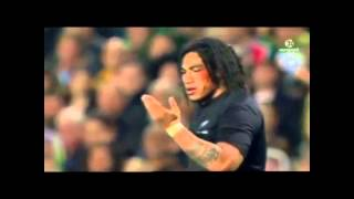South African Springboks Rugby Tribute - 4:40 Seconds Of Smashing The AIG All Blacks